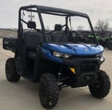 2021 Can-Am Defender DPS HD10 Oxford Blue for sale at Head Motor Company - Head Indian Motorcycle in Columbia MO