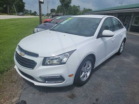 2016 Chevrolet Cruze Limited for sale at Pack's Peak Auto in Hillsboro OH