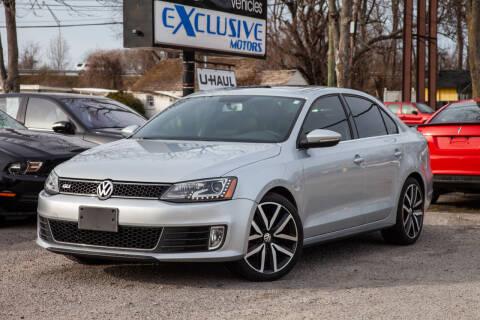 2014 Volkswagen Jetta for sale at EXCLUSIVE MOTORS in Virginia Beach VA
