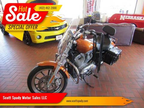 2014 HARLEY DAVIDSON XL883L for sale at Scott Spady Motor Sales LLC in Hastings NE