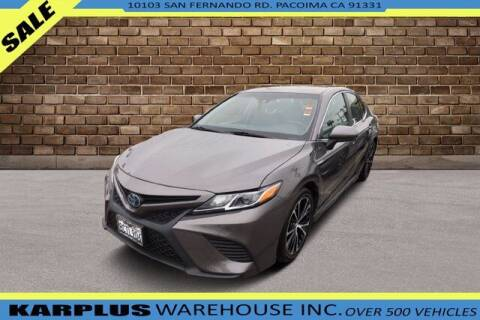 2018 Toyota Camry Hybrid for sale at Karplus Warehouse in Pacoima CA