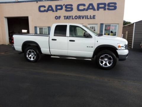 2008 Dodge Ram Pickup 1500 for sale at Caps Cars Of Taylorville in Taylorville IL