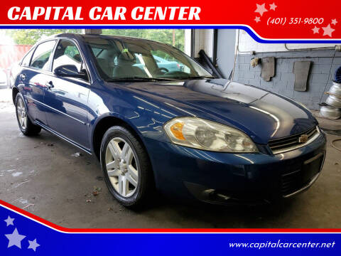 2006 Chevrolet Impala for sale at CAPITAL CAR CENTER in Providence RI