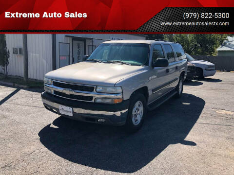2004 Chevrolet Suburban for sale at Extreme Auto Sales in Bryan TX