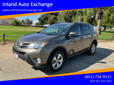 2015 Toyota RAV4 for sale at Inland Auto Exchange in Norco CA