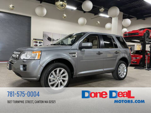 2012 Land Rover LR2 for sale at DONE DEAL MOTORS in Canton MA