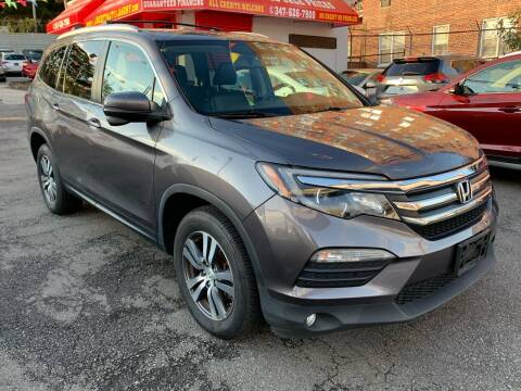 2017 Honda Pilot for sale at LIBERTY AUTOLAND INC - LIBERTY AUTOLAND II INC in Queens Villiage NY