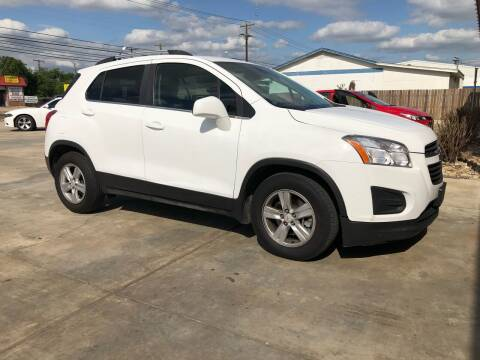 2016 Chevrolet Trax for sale at Texas Auto Broker in Killeen TX