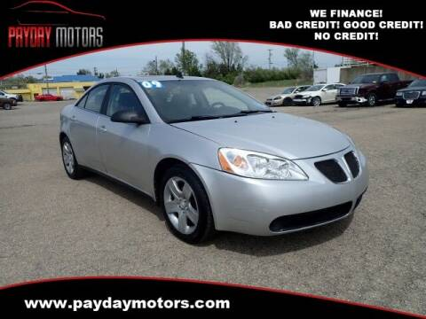 2009 Pontiac G6 for sale at Payday Motors in Wichita And Topeka KS