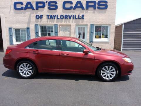 2013 Chrysler 200 for sale at Caps Cars Of Taylorville in Taylorville IL