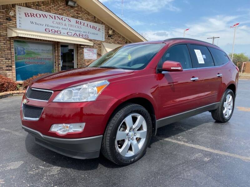 2011 Chevrolet Traverse for sale at Browning's Reliable Cars & Trucks in Wichita Falls TX