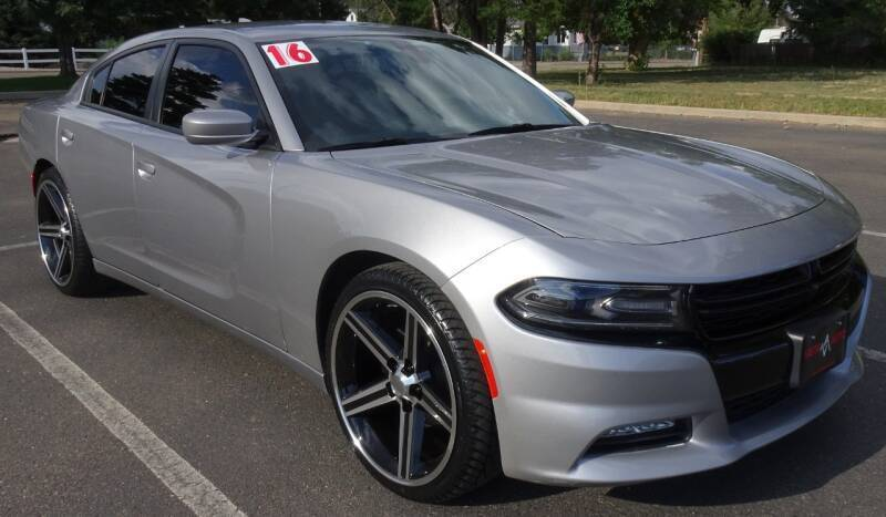 2016 Dodge Charger for sale at VISTA AUTO SALES in Longmont CO