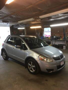 2008 Suzuki SX4 Crossover for sale at Lavictoire Auto Sales in West Rutland VT