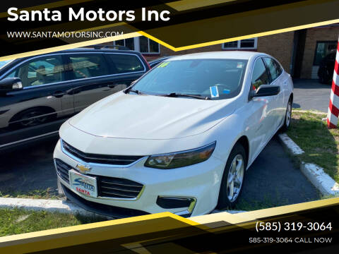 2016 Chevrolet Malibu for sale at Santa Motors Inc in Rochester NY