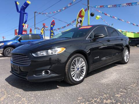 2013 Ford Fusion Hybrid for sale at 1st Quality Motors LLC in Gallup NM