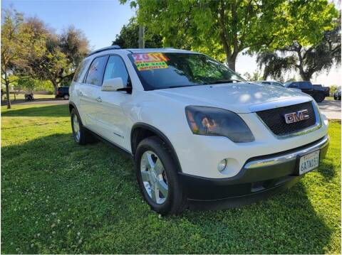 2007 GMC Acadia for sale at D & I Auto Sales in Modesto CA