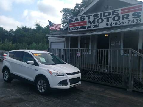 2014 Ford Escape for sale at EASTSIDE MOTORS in Tulsa OK