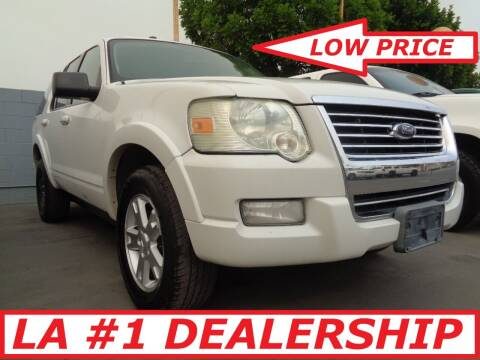 2010 Ford Explorer for sale at ALL STAR TRUCKS INC in Los Angeles CA