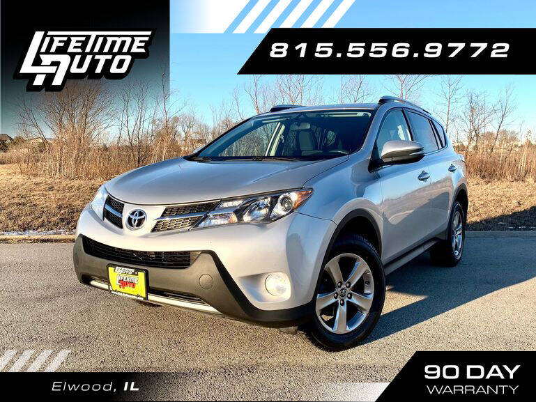 2015 Toyota RAV4 for sale at Lifetime Auto in Elwood IL