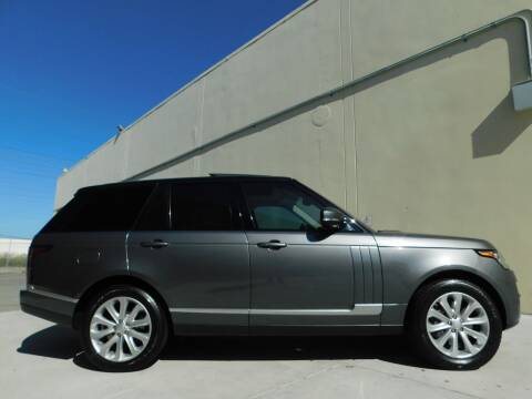 2016 Land Rover Range Rover for sale at Conti Auto Sales Inc in Burlingame CA