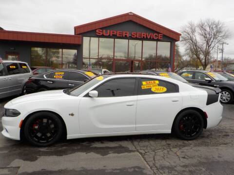 2015 Dodge Charger for sale at Super Service Used Cars in Milwaukee WI