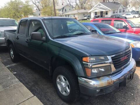 2006 GMC Canyon for sale at GREENLIGHT AUTO SALES in Akron OH