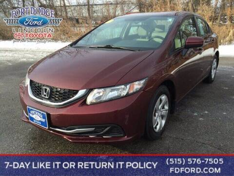 2015 Honda Civic for sale at Fort Dodge Ford Lincoln Toyota in Fort Dodge IA