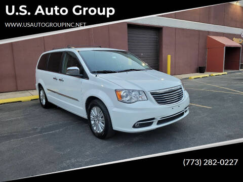 2014 Chrysler Town and Country for sale at U.S. Auto Group in Chicago IL