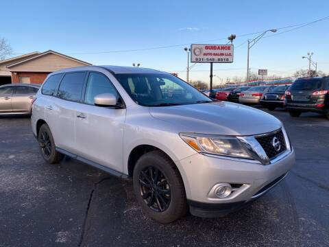 2013 Nissan Pathfinder for sale at Guidance Auto Sales LLC in Columbia TN
