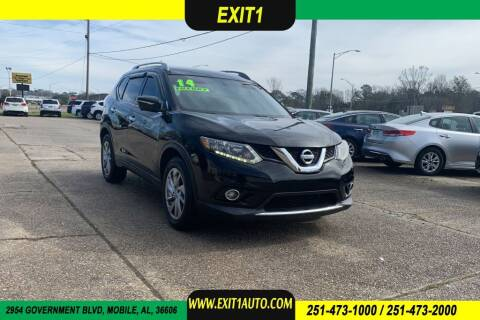 2014 Nissan Rogue for sale at Exit 1 Auto in Mobile AL