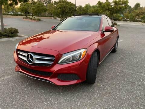 2017 Mercedes-Benz C-Class for sale at Fiesta Motors in Winnetka CA