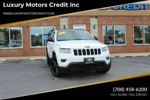2015 Jeep Grand Cherokee for sale at Luxury Motors Credit Inc in Bridgeview IL