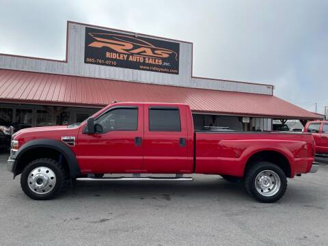 2008 Ford F-450 Super Duty for sale at Ridley Auto Sales, Inc. in White Pine TN