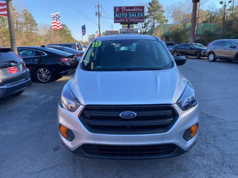 2019 Ford Escape for sale at J Franklin Auto Sales in Macon GA