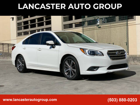 2017 Subaru Legacy for sale at LANCASTER AUTO GROUP in Portland OR