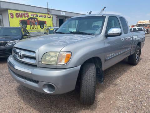 2004 Toyota Tundra for sale at 3 Guys Auto Sales LLC in Phoenix AZ