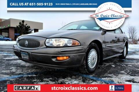 2001 Buick LeSabre for sale at St. Croix Classics in Lakeland MN