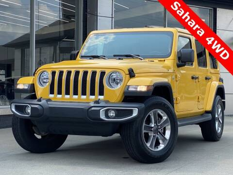 2020 Jeep Wrangler Unlimited for sale at Carmel Motors in Indianapolis IN