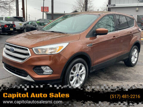 2017 Ford Escape for sale at Capitol Auto Sales in Lansing MI