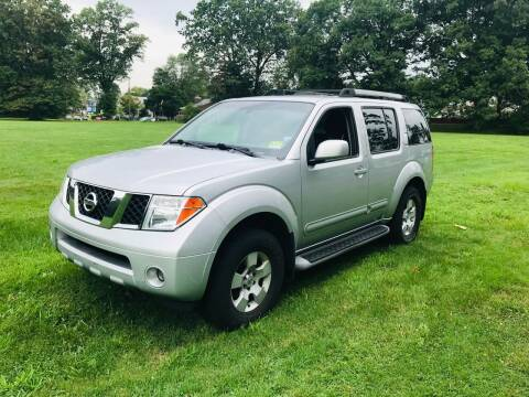 2005 Nissan Pathfinder for sale at M & C AUTO SALES in Roselle NJ
