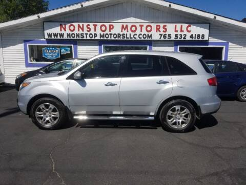 2009 Acura MDX for sale at Nonstop Motors in Indianapolis IN