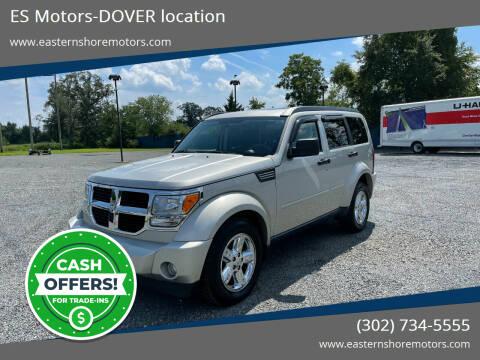 2008 Dodge Nitro for sale at ES Motors-DAGSBORO location - Dover in Dover DE