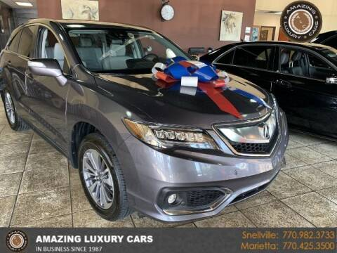 2017 Acura RDX for sale at Amazing Luxury Cars in Snellville GA