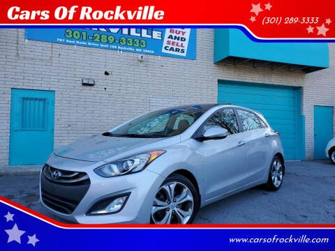 2013 Hyundai Elantra GT for sale at Cars Of Rockville in Rockville MD