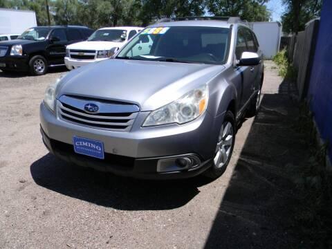 2011 Subaru Outback for sale at Cimino Auto Sales in Fountain CO