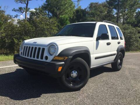 2007 Jeep Liberty for sale at VICTORY LANE AUTO SALES in Port Richey FL