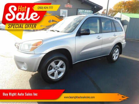 2005 Toyota RAV4 for sale at Buy Right Auto Sales Inc in Fort Wayne IN