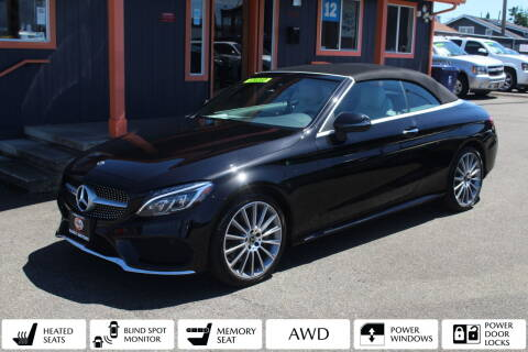 2018 Mercedes-Benz C-Class for sale at Sabeti Motors in Tacoma WA
