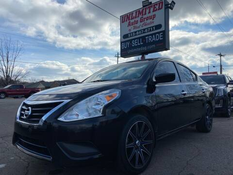2017 Nissan Versa for sale at Unlimited Auto Group in West Chester OH