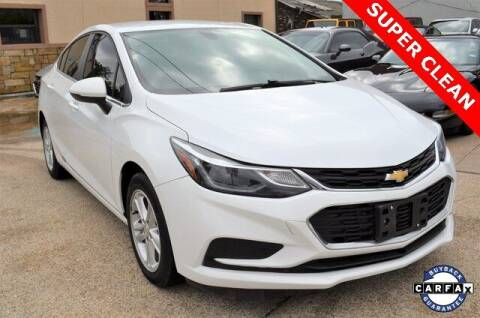 2018 Chevrolet Cruze for sale at LAKESIDE MOTORS, INC. in Sachse TX